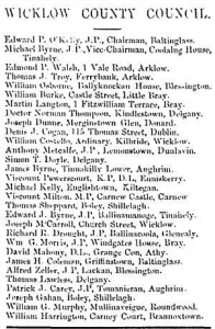 council list