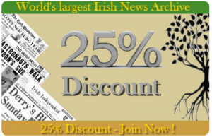 Discount coupon to Irish Newspaper Archives