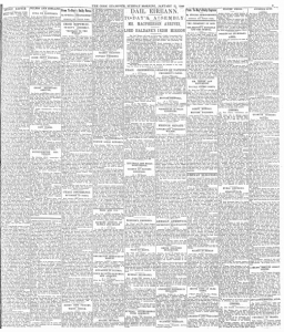 Cork Examiner 21.01.1919 First Dail Eireann