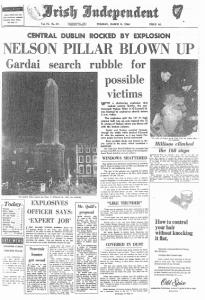 Irish Independent Nelsons Pillar
