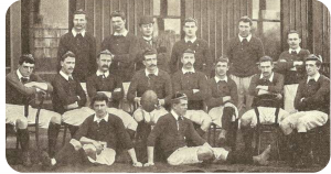 Triple Crown winners Irish Rugby Team 1894
