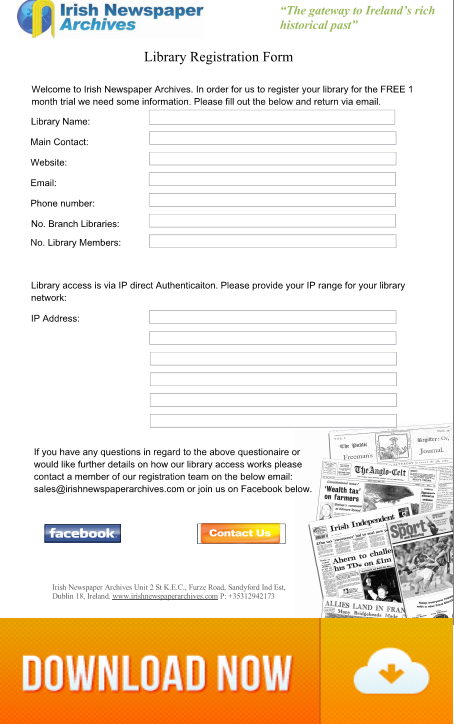 Library Registration Form