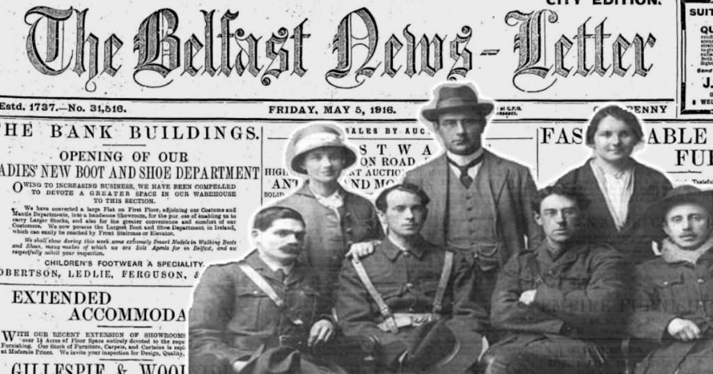 Belfast Newsletter Enniscorthy 1916