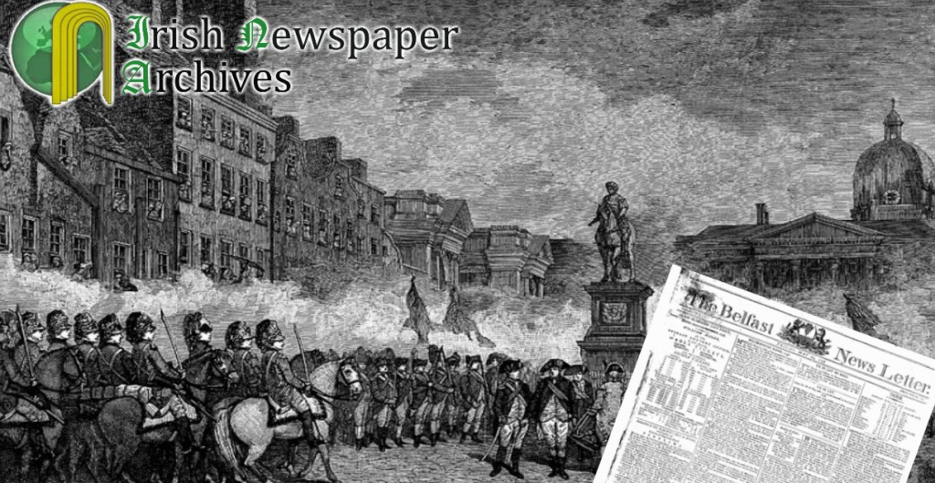 Irish Rebellion 24.May.1798
