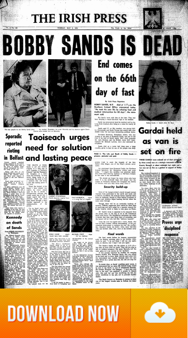 Irish Press Thumbnail view of the 05.May.1981