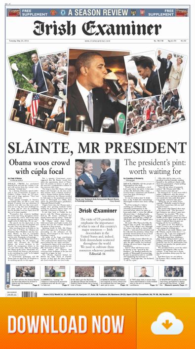President Obama Visits Ireland