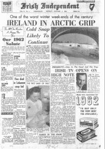 Irish Independent 01.January.1962