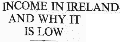 Connacht Tribune 6 June 1956 WHY IN IRELAND IS SO LOW