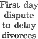 Ireland divorce act 1996 comes into effect