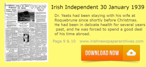 Irish Independent Download of January 30 1939