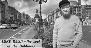Luke Kelly Dies Irish Press download 30 January 1984