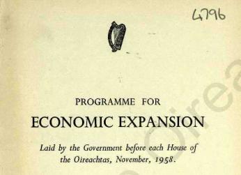 Programme for economic expansion TK Whitaker