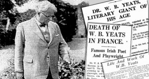 Y B Yeats Died 28 January 1938 download newspapers www.irishnewspaperarchives.com