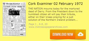Cork Examiner 2 February 1972