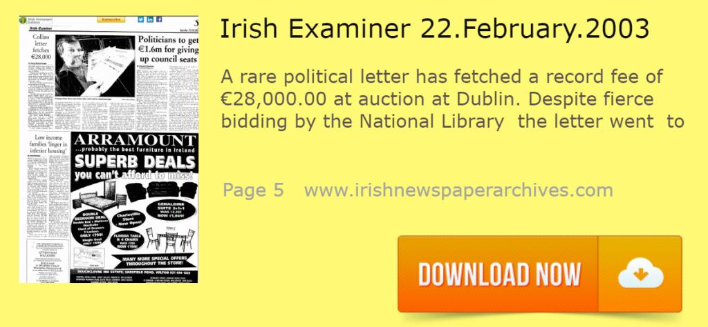 Irish Exam 22 February 2003