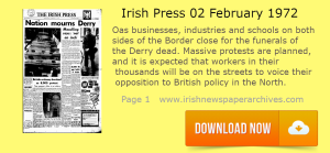 Irish Press 2 February 1972