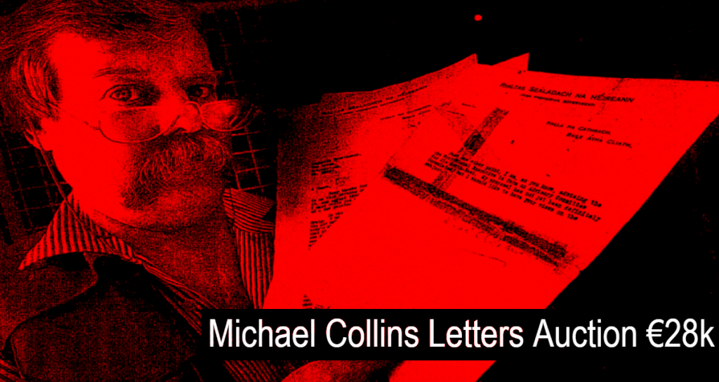 Michael Collins letter fetches 28,000 euro