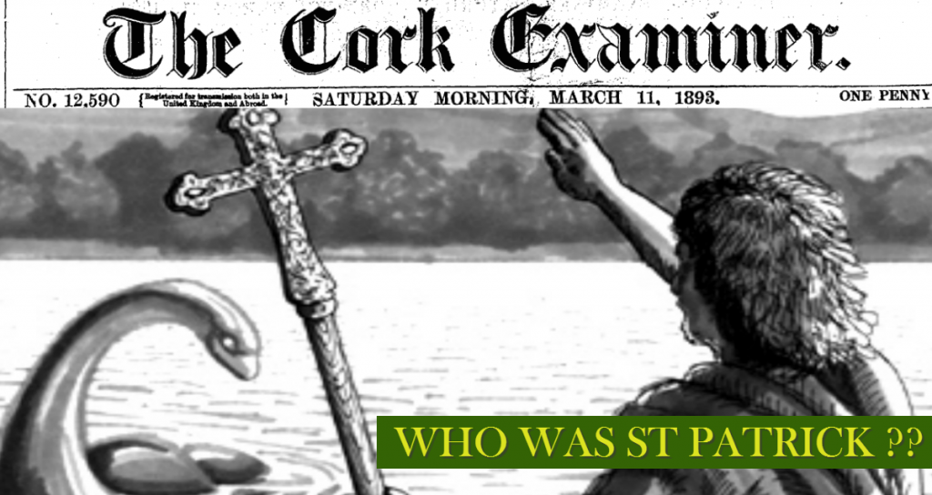 Cork Examiner 11 March 1893 Who was St Patrick