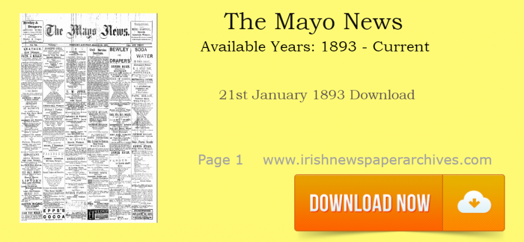 The Mayo News Newspaper Archive