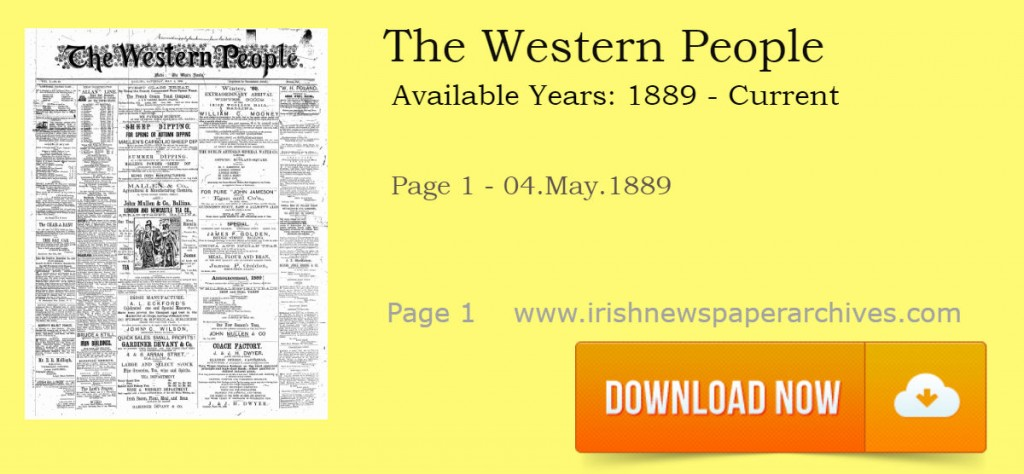 The West's awake - Western People Newspaper Archives