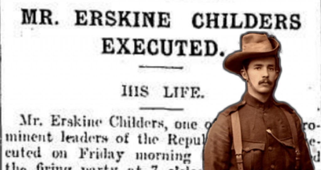 death by firing squad of Erskine Childers