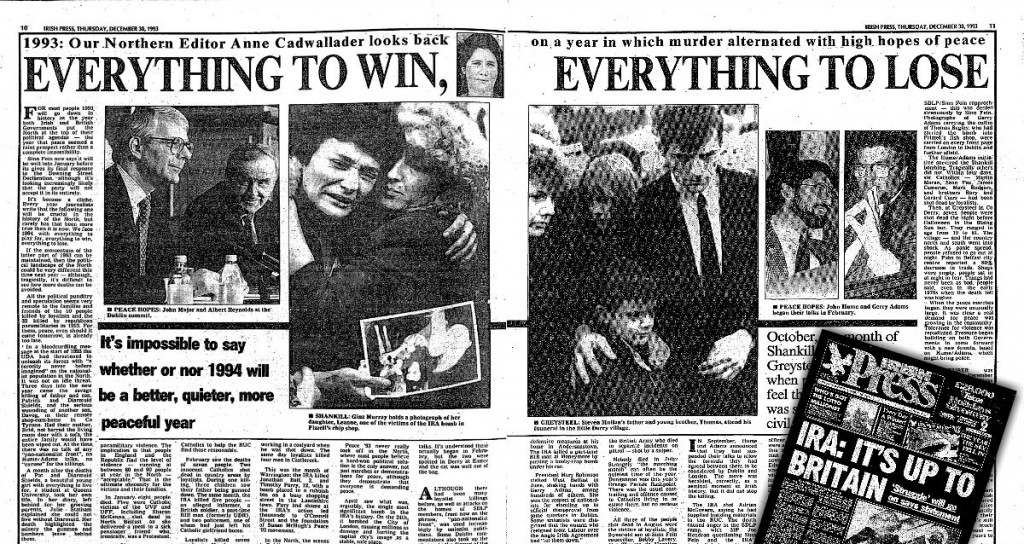 Downing street declaration 15.December.1993