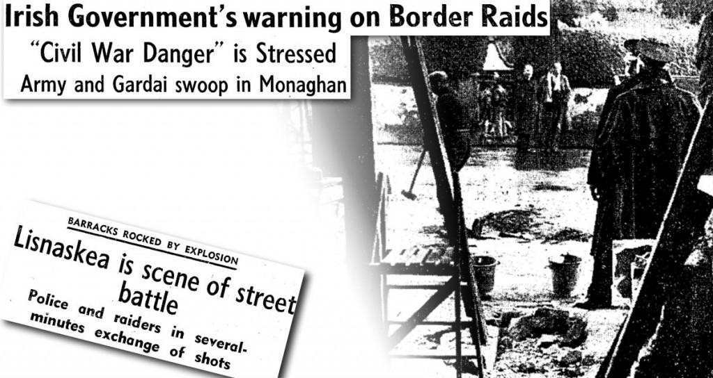 11.December.1956 IRA Border Raids