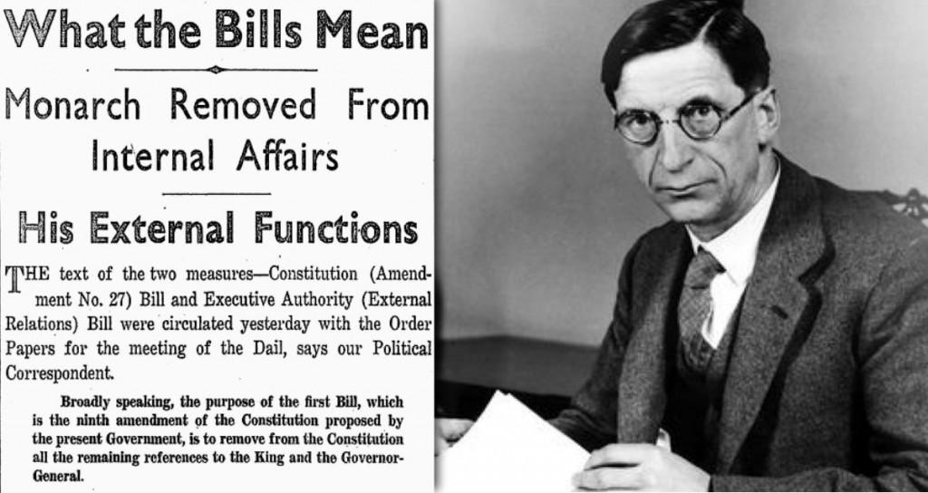 Eamon de Valera External Relations Act 1936