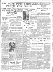Irish Independent 1905-current Tuesday December 26 1939 reduced