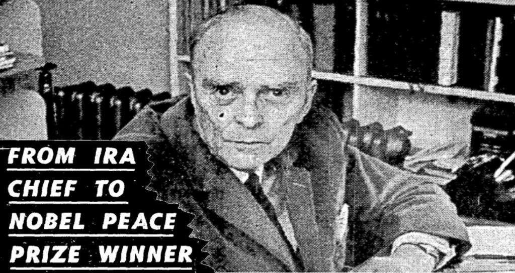 Sean MacBride awarded nobel peace prize