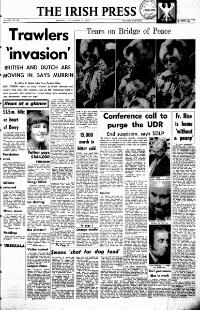 Irish Press 04 Dec 1976 Peace Rally