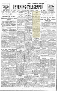 Evening Telegraph 24 January 1920 War of Independence