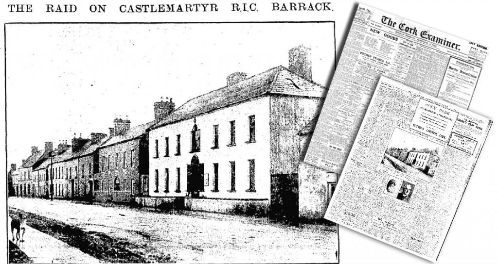 Castlemartyr Barracks attack 09 February 1920