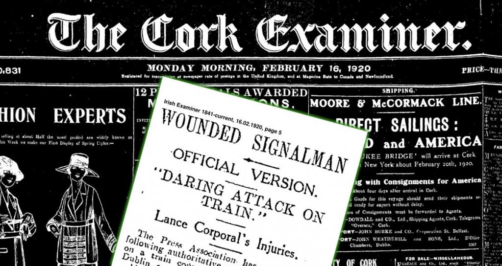 Drumcondra Train Attack 14 February 1920