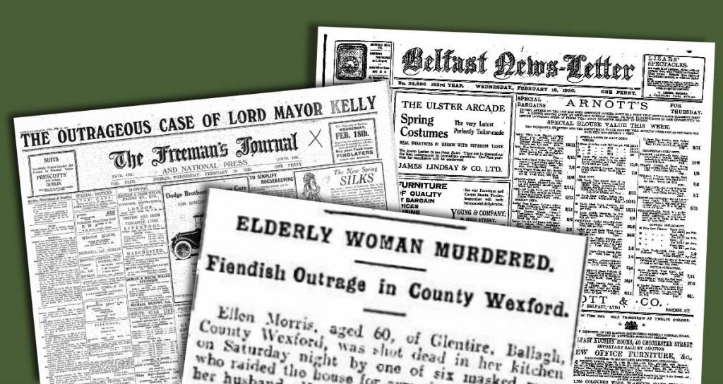 Ellen Morris Murdered 17 february 1920