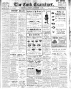 Irish Examiner 1841-current Saturday February 07 1920 page 1