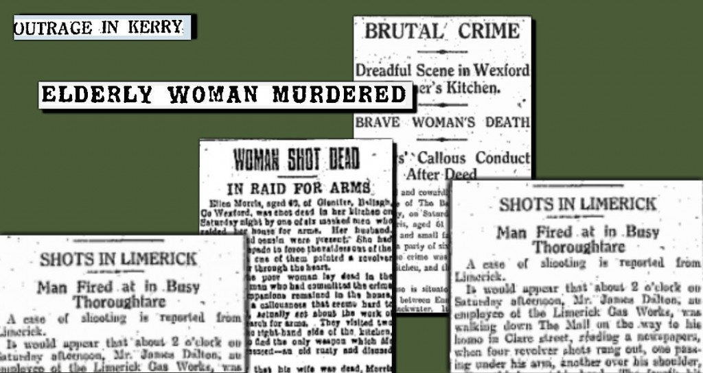 Outrage in Ireland - 16.February.1920