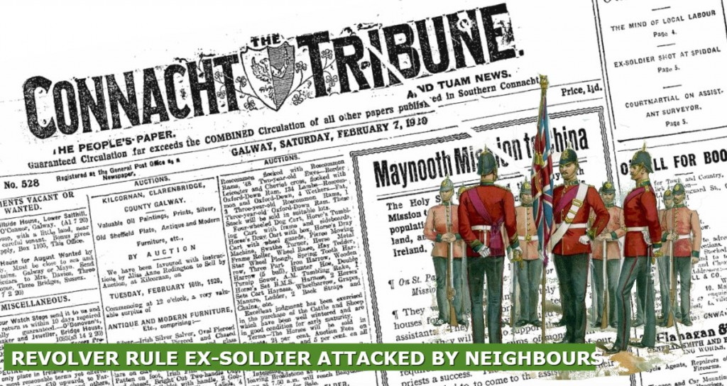 REVOLVER RULE EX SOLDIER ATTACKED