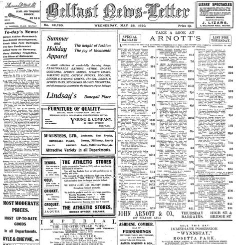 BelfastNewsletter_26thMay_1920_Thumbnail