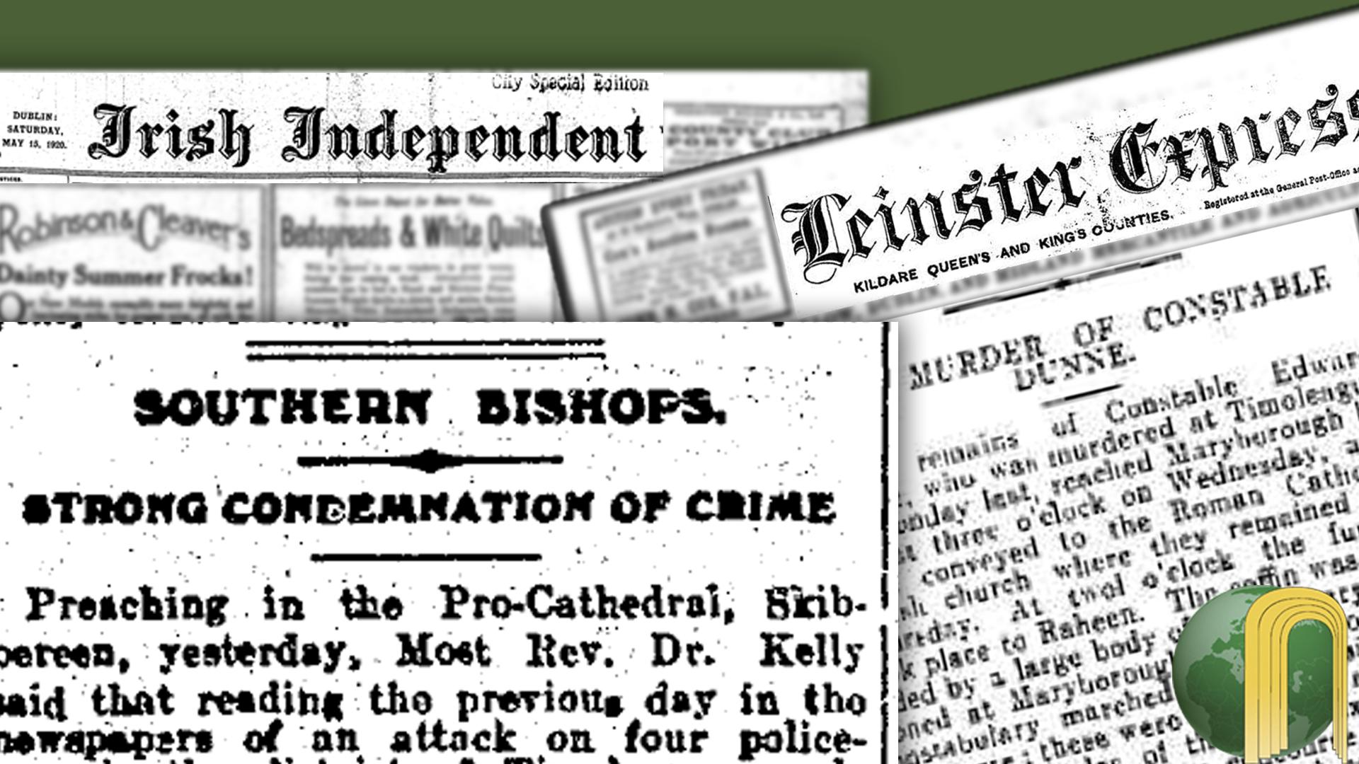 Irish War of Independence 10th May 1920