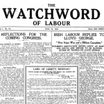 Irish War of Independence - Labour Strikes - June.1920