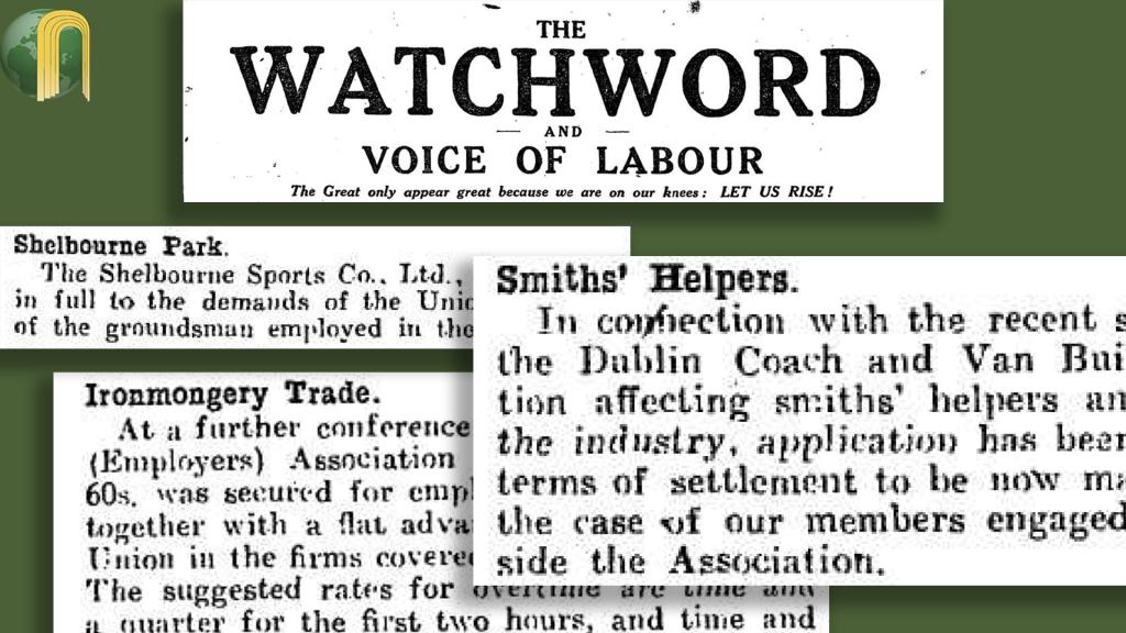 Labourers Grievances July 1920