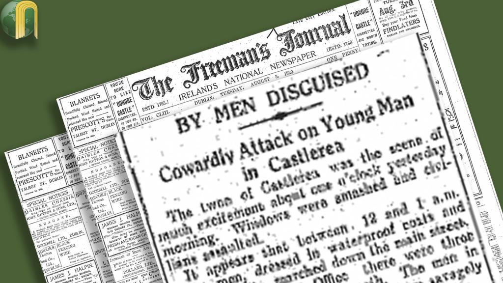 Castlerea Destruction - Aug 1920