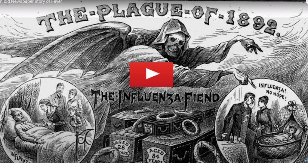 Influenza Flue 1892 Russian Flue