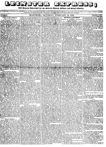 Leinster Express 18 February 1832