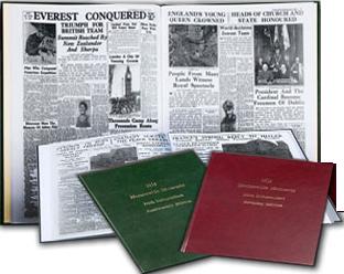 Newspaper Book