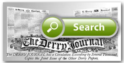 Search Derry Journal Historic Archives newspaper