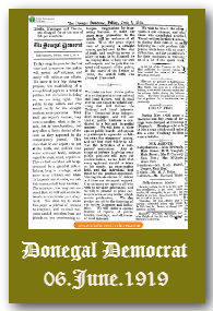 Donegel Democrat archive available now on Irish Newspaper Archives