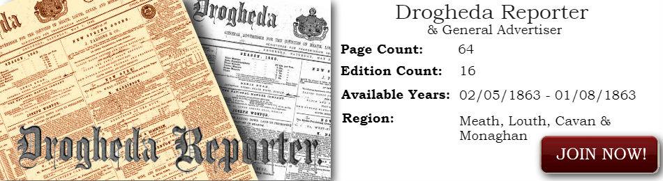 Drogheda Reporter Historical Newspaper Archive