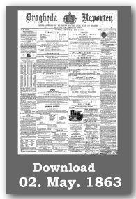 Drogheda Reporter download front page newspaper